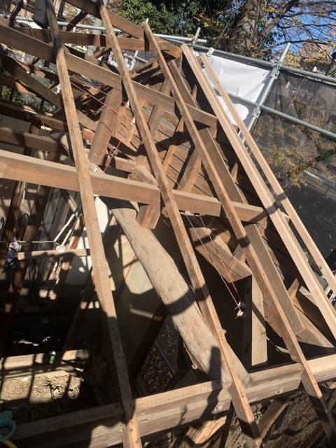 屋根葺き替え(瓦棒葺き)